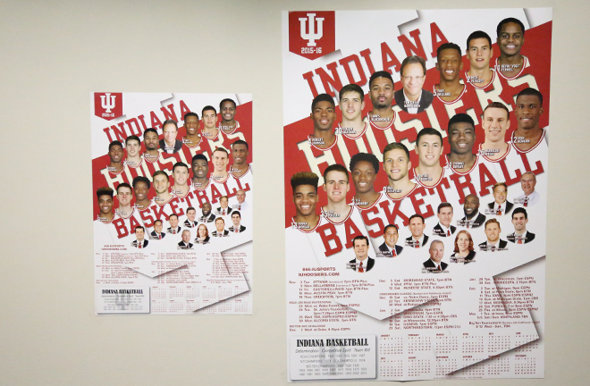 Indiana University 2019 Calendar New Calendar Posters Available For Hoosier Hysteria Autographs