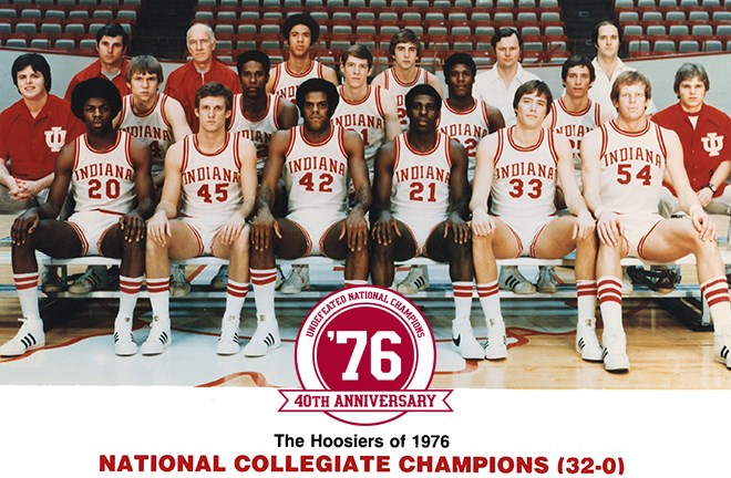 1976 Indiana Hoosiers Named All-Time March Madness Team - Indiana ...