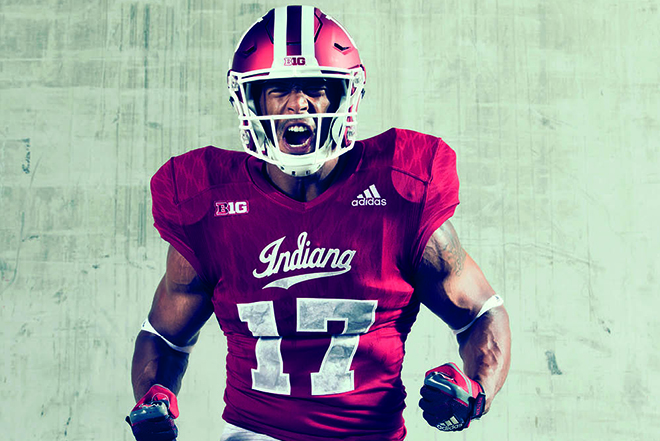 "b72b7d96bfc Indiana University and adidas Unveil New ""Hep s Rock"" Alternate Uniforms"