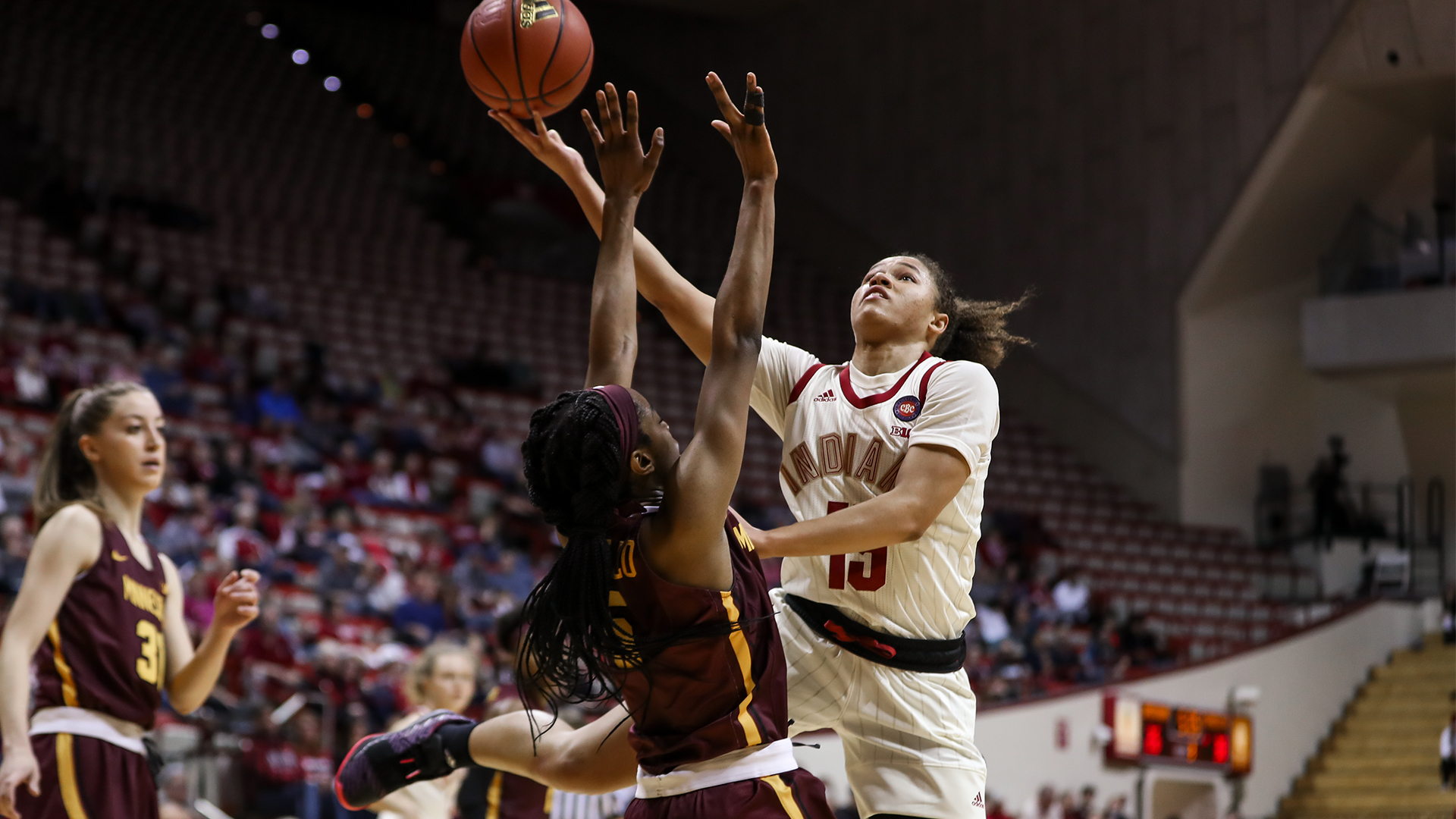 Hoosiers Play At No 23 21 Michigan State On Monday Night
