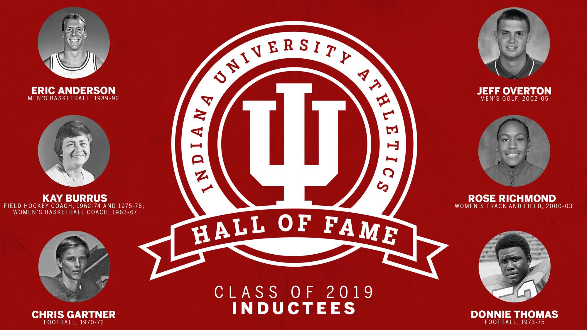 IU Athletics Hall of Fame Class of 2019 Announced